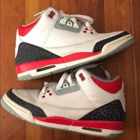 quality design 5132a 57468 Jordan 3s red